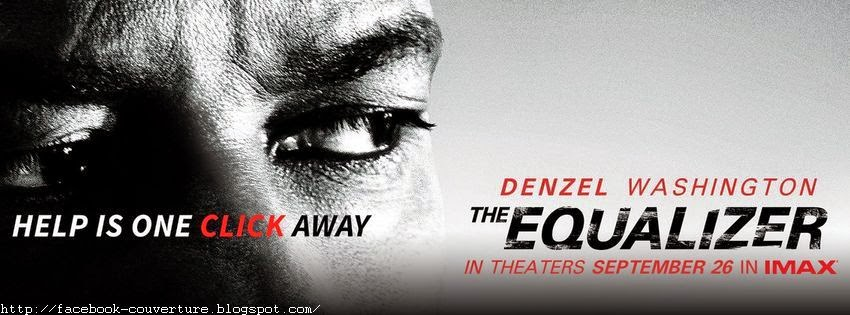 Couverture facebook the equalizer film
