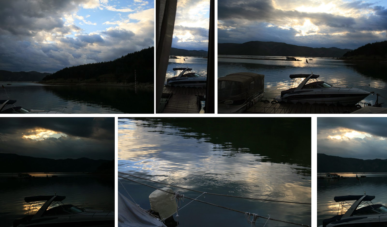 Multiple views from the dinner table