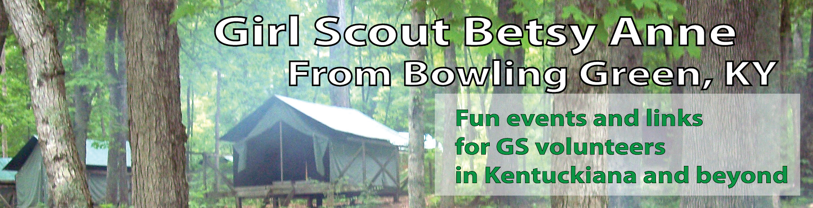 Girl Scout Betsy Anne from Bowling Green, KY