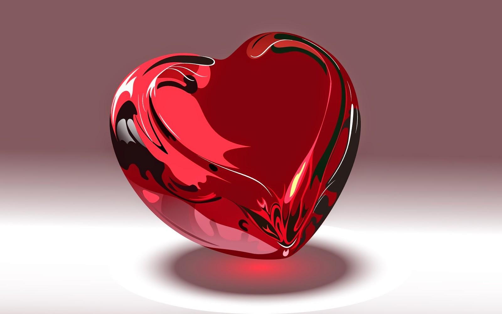 Gambar Cinta Red Heart Permen Rasa Cinta