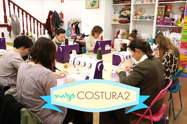 Taller monográfico Coatura II en Sweet sixteen craft store Madrid