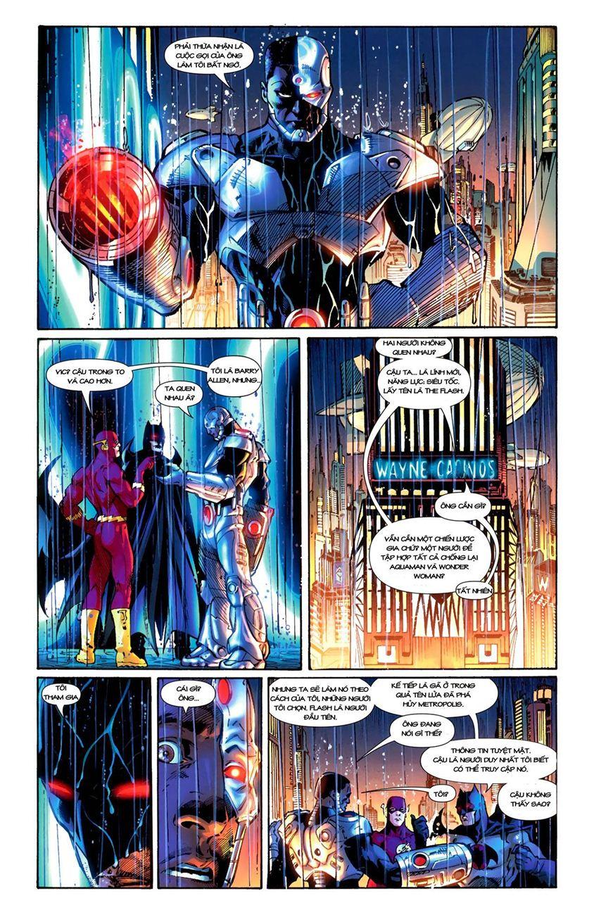 FlashPoint chap 3 - Trang 19