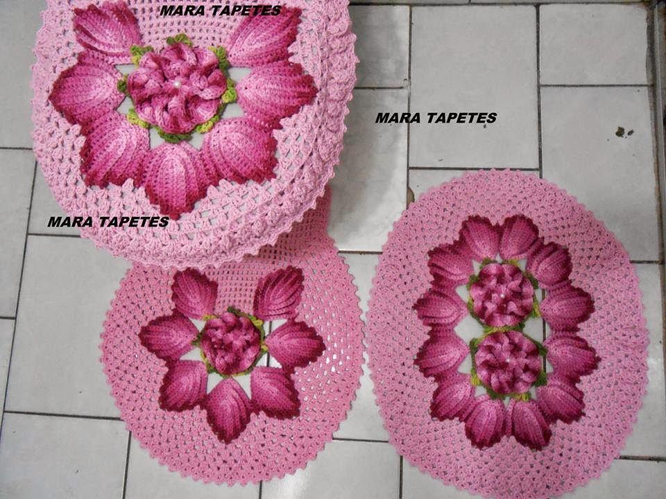 Decoracion De Baño En Crochet:de 1000 imágenes sobre Crochet – Bathroom en Pinterest