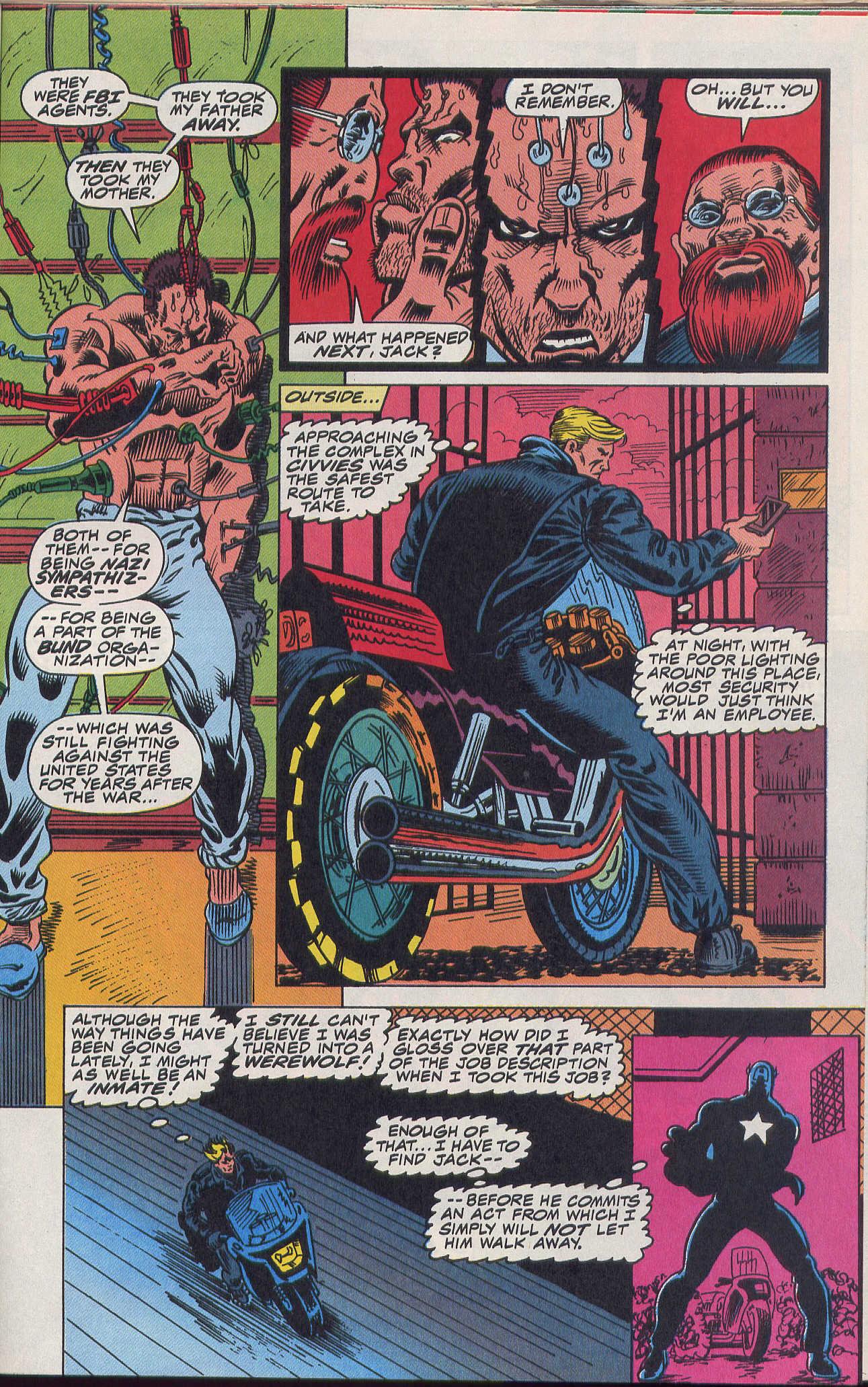 Captain America (1968) Issue #420b #370 - English 15