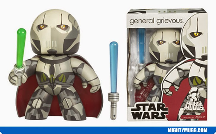 General Grievous Star Wars Mighty Muggs Wave 4