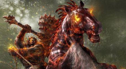 Cavalo vermelho, cavaleiro vermelho do apocalipse