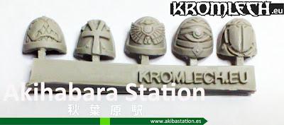Stygian Shoulder Pads (review) [Kromlech].