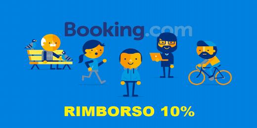 BOOKING RIMBORSO 10%