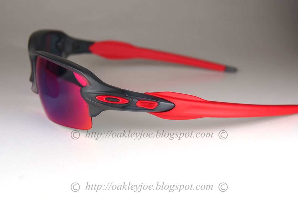 oakley full jacket lenses c0vp  Black And Red Oakley Flak Jacket