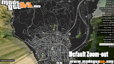 V - Mod Mega Map Zoom-Out para GTA V PC