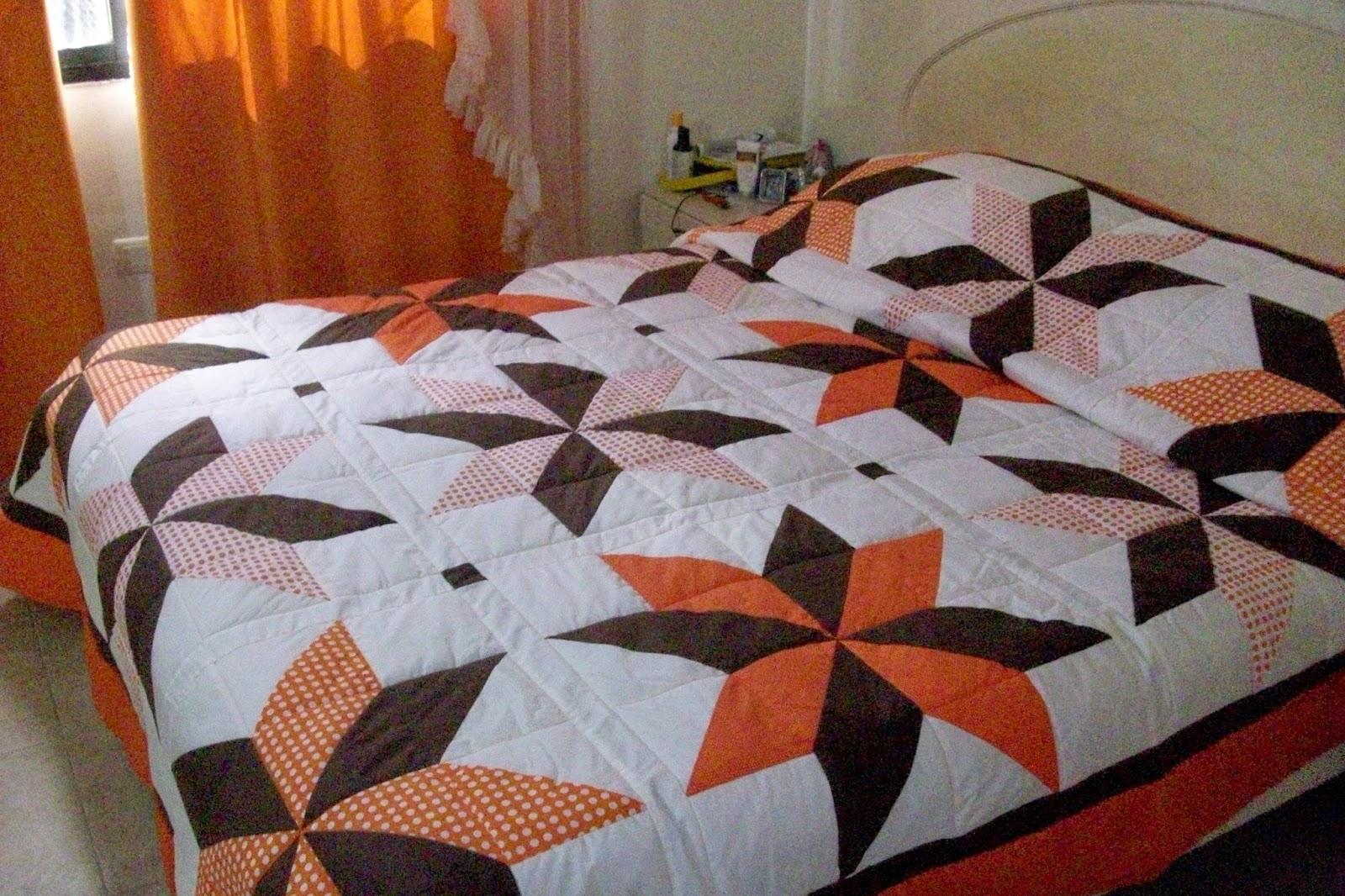 Colchas de retazos en patchwork quilt