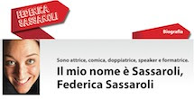 Federica Sassaroli, biografia di un artista