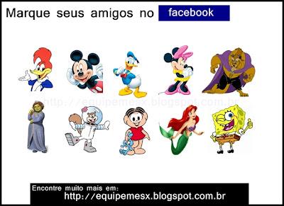 Imagens para marcar amigos no facebook grátis
