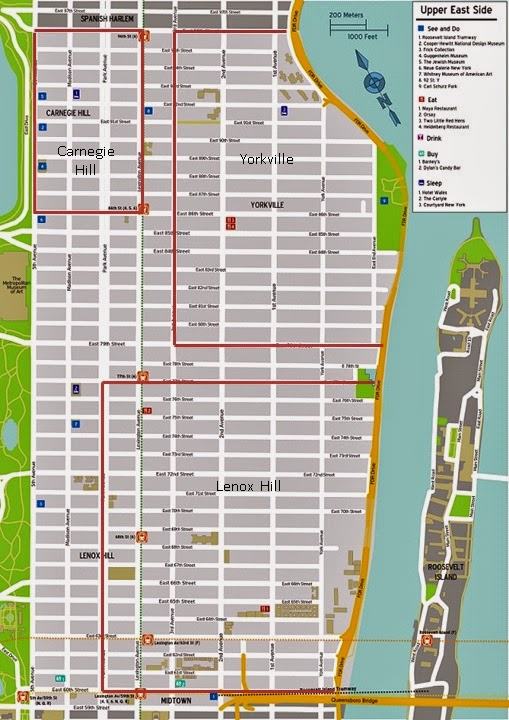 A Fine Blog A Fine Idea Time To Realign Upper East Side Boundaries