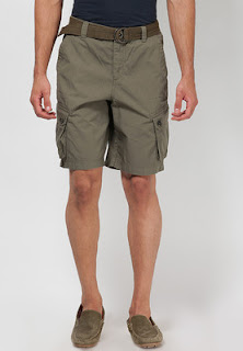 Cargo Bermuda with Belt