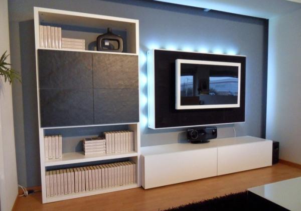 ... contoh desain meja tv minimalis yang cukup menarik. selamat mencoba
