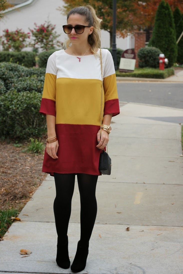 Florida State Game Day Dress for Winter