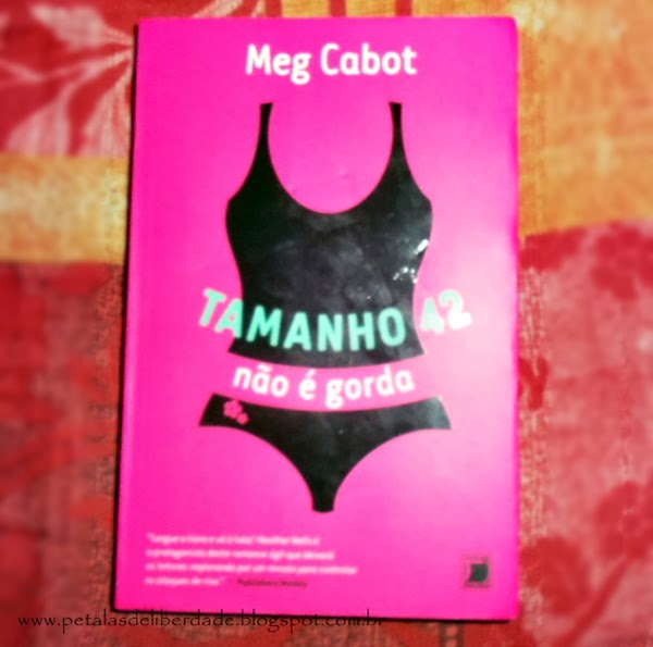 livro, Tamanho 42 Não É Gorda - Mistérios de Heather Wells - Vol. 1 - Meg Cabot