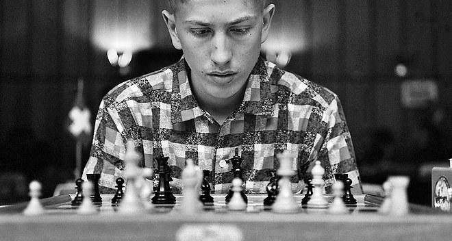 Le joueur d'échecs américain Bobby Fischer