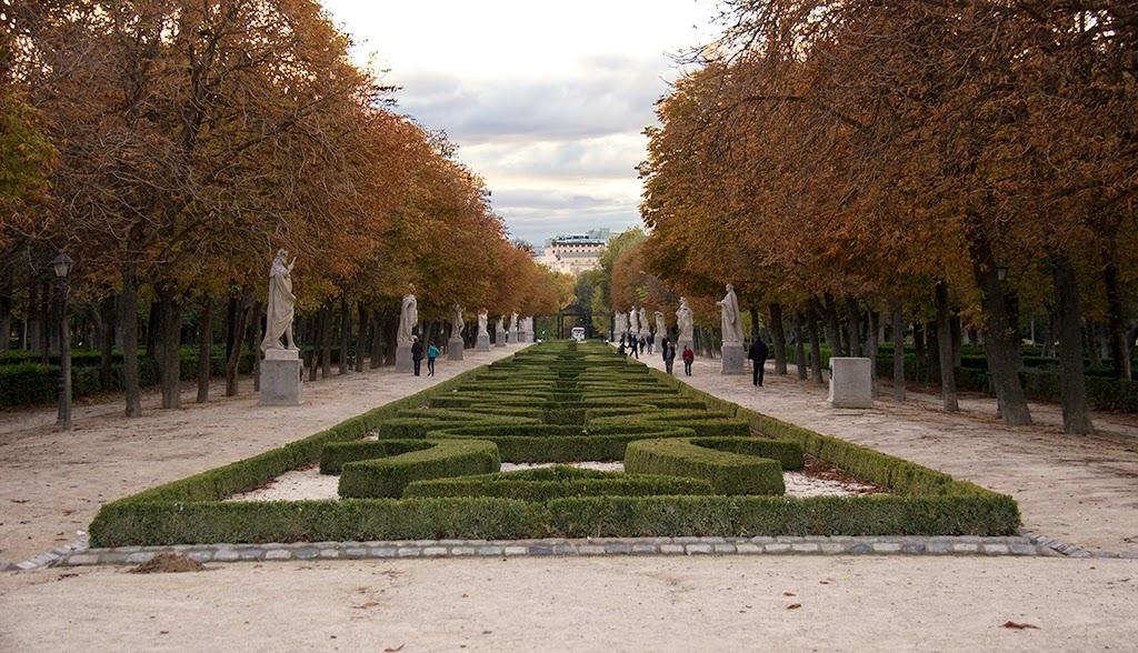 fotografía jardines El Retiro Madrid