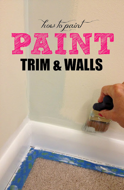 livelovediy how to paint trim ForHow To Paint Trim