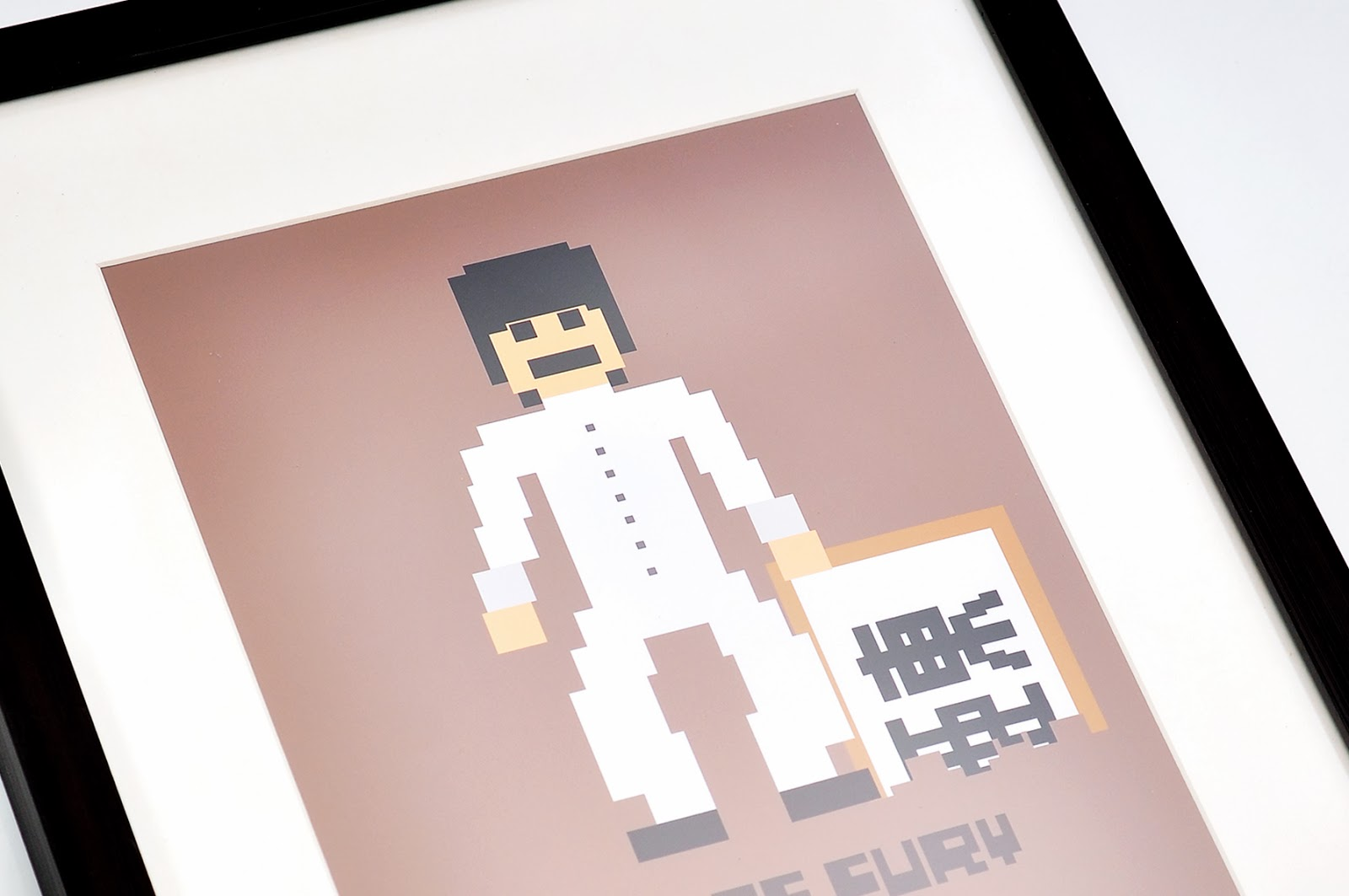 toto workshop in memory of bruce lee pixel design project wall art rh totoproductionhouse blogspot com