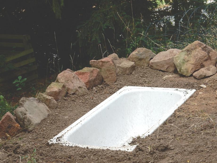 Puzzle d head wie man keinen teich baut - Garten badewanne ...