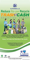 Trash to Cash on September 1 & 8