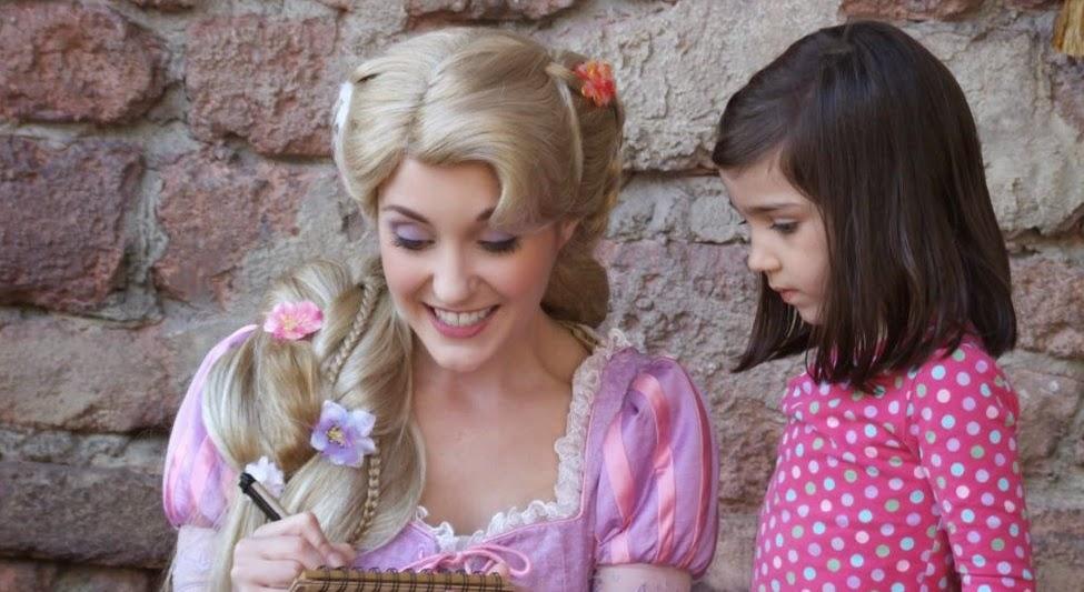 Onde encontrar a princesa Rapunzel Orlando
