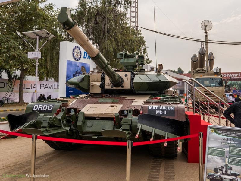 Arjun MK2 and Brahmos Weapon System