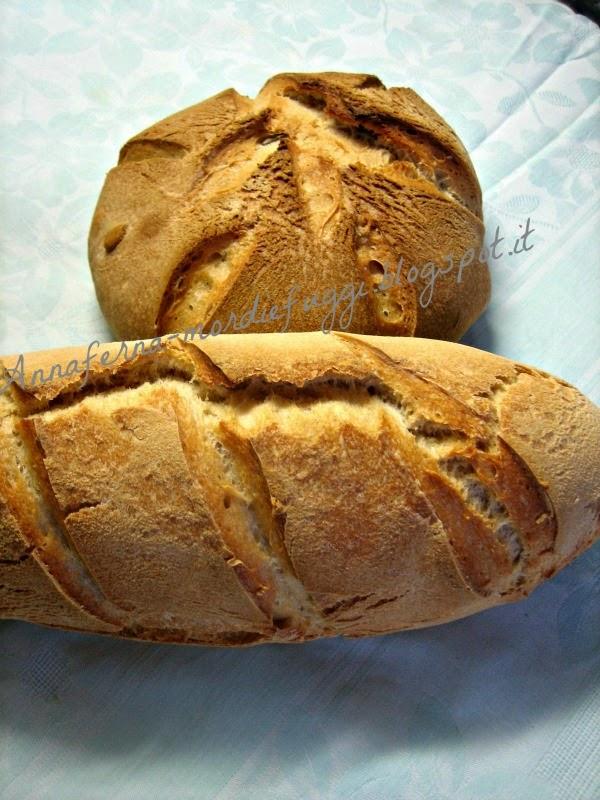 il pane con lievito madre rinfrescato ma senza raddoppio.....di esperimenti e bontà