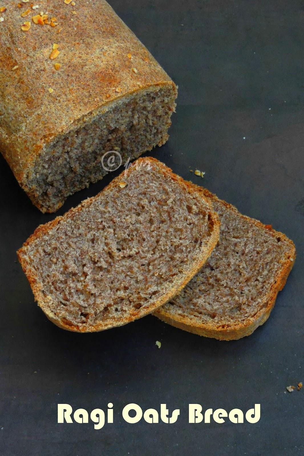 Ragi Oats Loaf