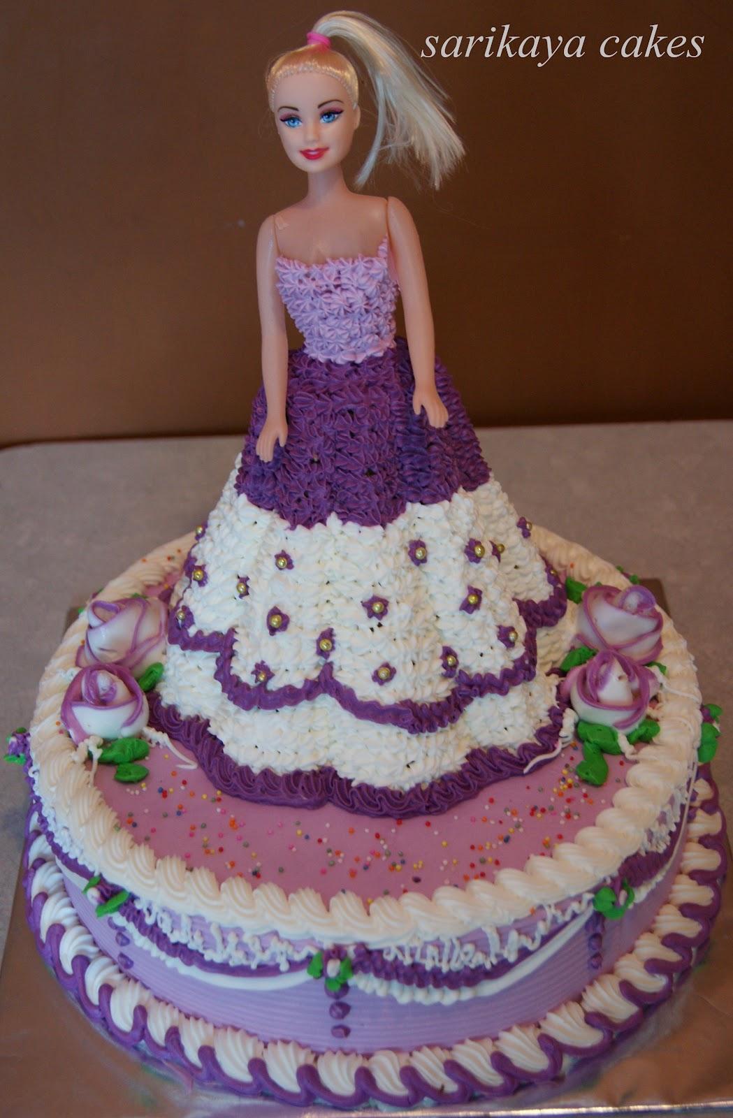 Images Kue Ulang Tahun : sarikaya cakes: KUE ULANG TAHUN BARBIE BY SARIKAYA CAKES