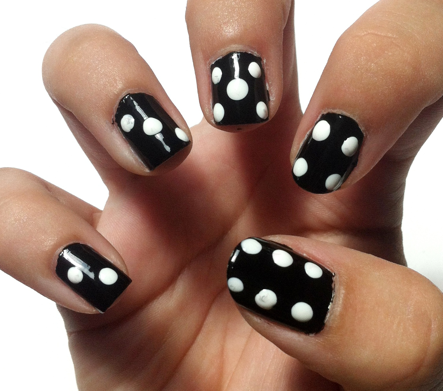 Sabrina\'s Make Up Diary: WÜRFEL/ DOMINO NAIL DESIGN