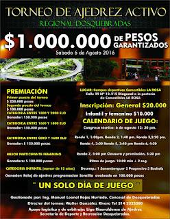 Torneo Regional Ajedrez Activo (Dar clic a la imagen)