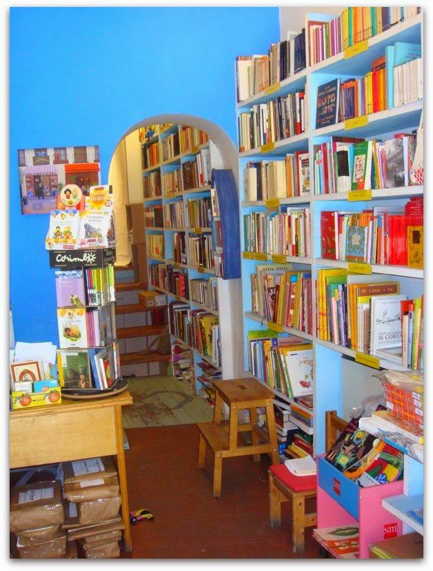 Bibliotecas para niños Madrid - La Mar de Letras