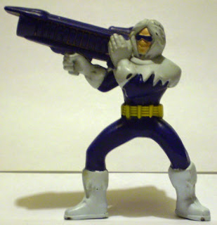 Front of McDonald's Young Justice Captain Cold