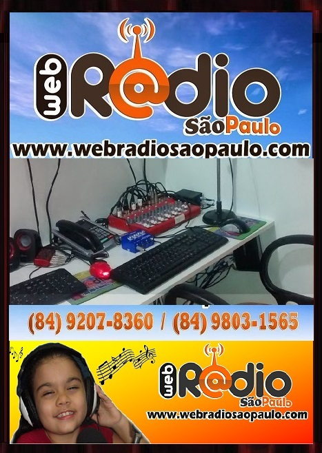OUÇA A WEB RÁDIO SÃO PAULO.