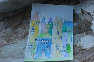 акварельные картинки, красивые рисунки, картинки в кухню, сказочный город, красивые кружки, чашечки, кружечки, нарисованые картинки, рисунки акварелью, смешные малыши, рисованые мишки, милые открытки, открытки на заказ, игрушки акварельлью, картинки в детскую, серия открыток, рисованные домики