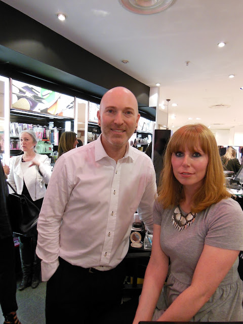 Me with Daniel Sandler in Beauty Mart