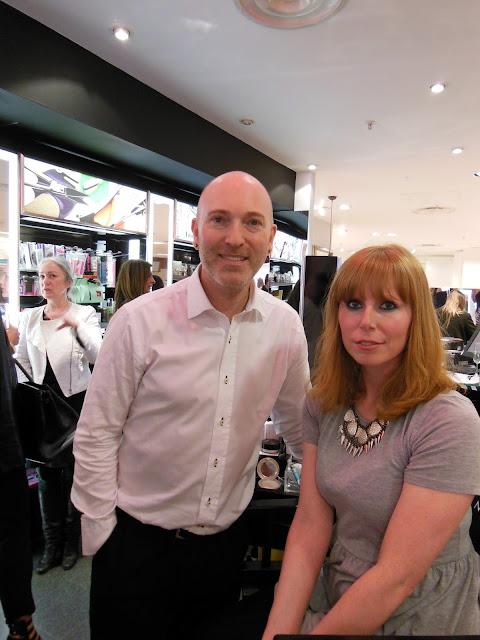 Me with Daniel Sandler in Beauty Mart