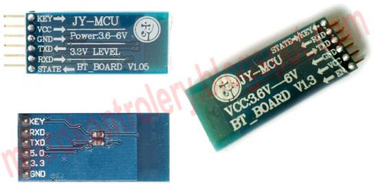 Moduł HC-05 z adapterami i regulatorem napięcia 3,3V