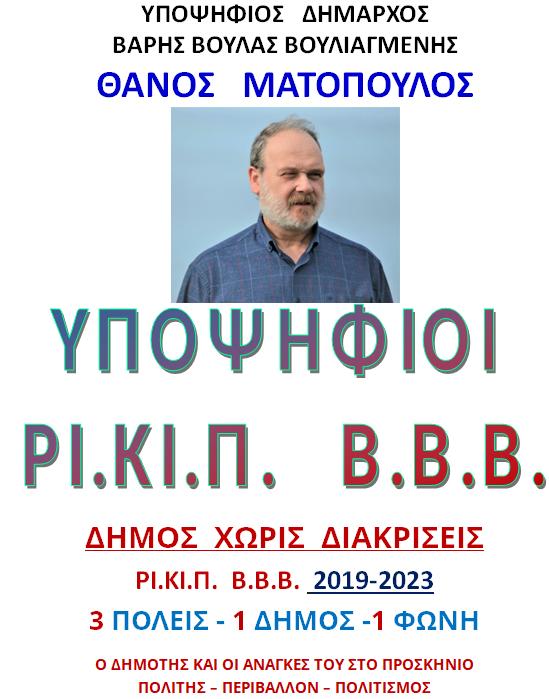 ΥΠΟΨΗΦΙΟΙ 2019