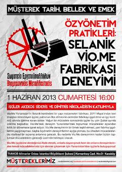 Εκδηλωση αλληλεγγυης στην Τουρκια