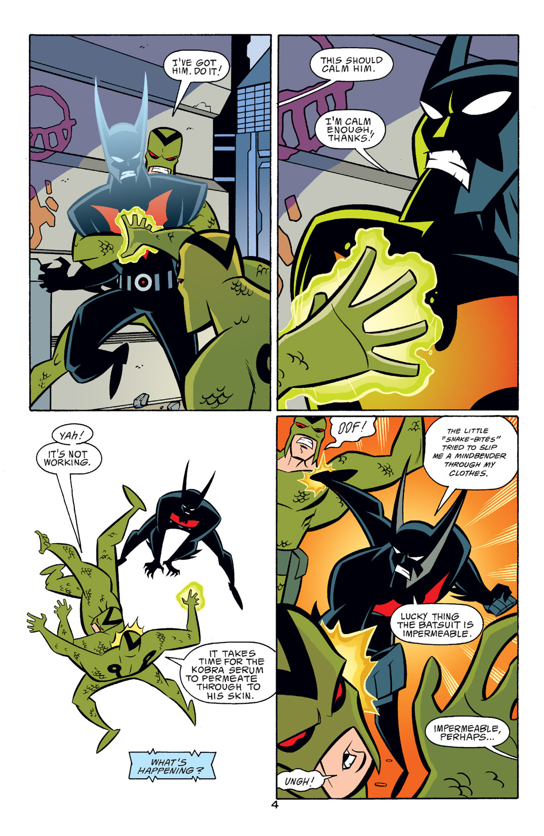 Batman Beyond [II] Issue #16 #16 - English 5