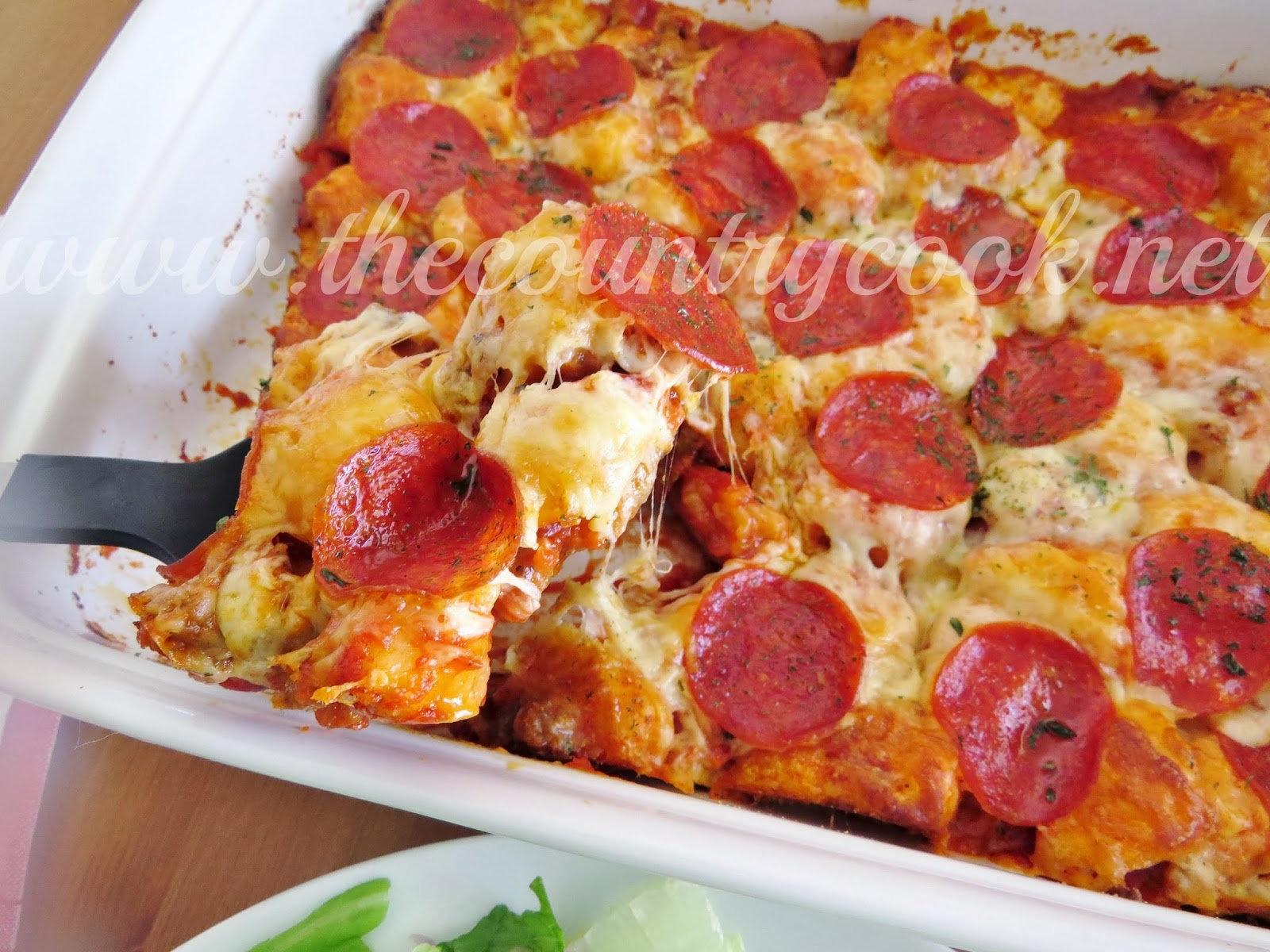 Bubble Up Pizza - The Country Cook