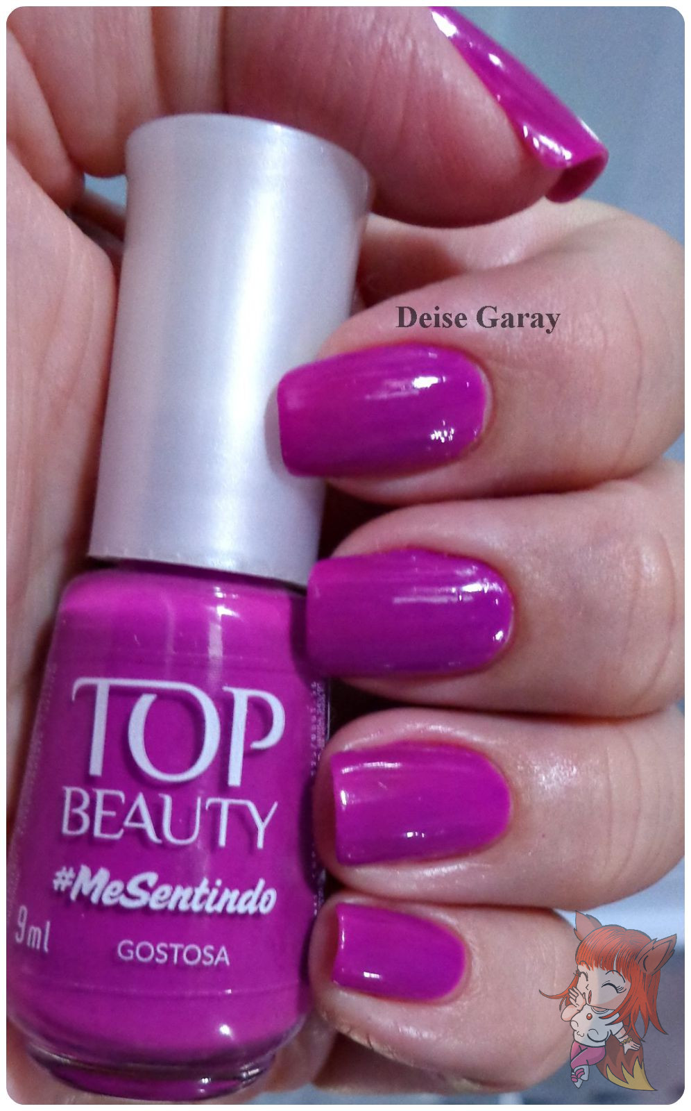 Esmalte Top Beauty :: Coleção #MeSentindo - Gostosa