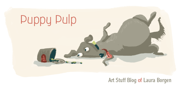 Puppy Pulp Art Blog