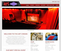 Visit The Art Cinema's Brand New Website