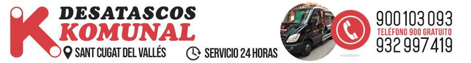 Desatascos en Sant Cugat - 900 103 093 - Desatascos Komunal